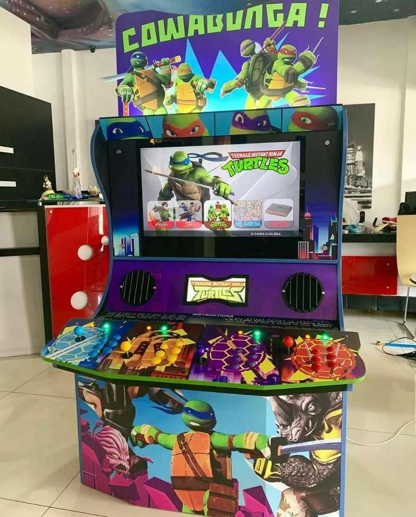NEW Retro Arcade Ding dong 4 player cocok untuk cafe bar resto