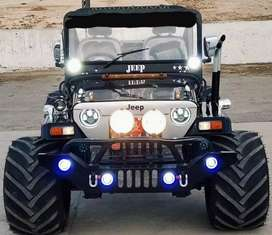 Modified landijeep