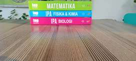 Bank soal top sukses smp, ringkasan matematika sma, pocket book kimia