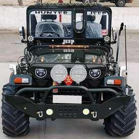 Modified jeeps open jeep