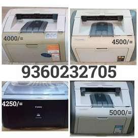 HP 1020 HP1007(Rs.3500)for sale (PRINTER ALWAYS AVAILABLE)