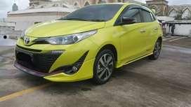 Toyota Yaris S TRD Sportivo AT tahun 2019 akhir like new