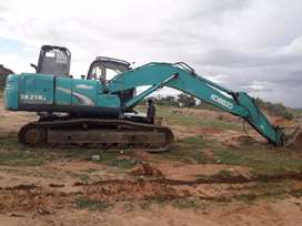 2012 kobelco SK210 at RS.1690000 in good condition