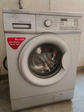 LG front load fully automatic washing machine