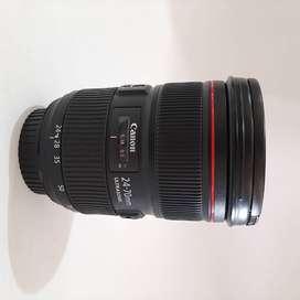 Lensa Canon 24-70 mm f/2.8L II USM