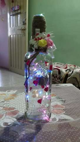 Hand made bottles