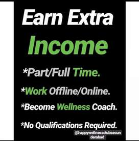 No qualification required come and earn part time an full time