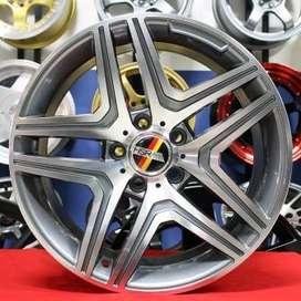 velg hsr wheel ring 17x8 hole 5x112 et 35 bisa utk mercy