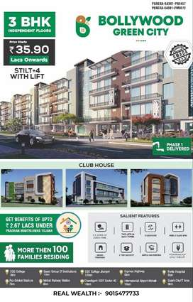 Buy 3 bhk affordable flats in mohali at prime location