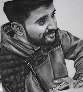 Sketch portrait- Best Gift
