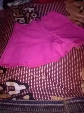 Celana cewek model rok warna pink