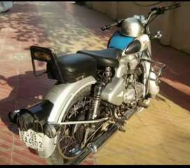 Royal Enfield classic 350 Bullet Silver color