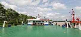 Di TC  CPO Barge 5000 KL+ SPOB 400 & 600 KL Hub Miss palu Via Telp/Wa