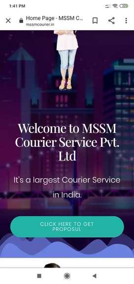 Mssm courier service offer dist franchise