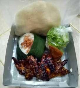 Nasi box ayam bakar