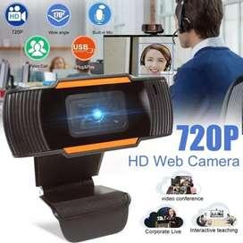 Webcam X85 Full HD 720p Autofocus Camera PC Laptop Desktop Jernih Ori