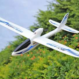 Pesawat Glider RC Sky King F959 vs Drone Helikopter Mobil Off Road