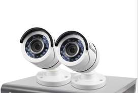 2 HD CCTV Camera installation-