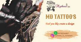 MD Tattoos..per inch 300only