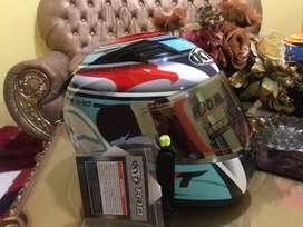 Helm KYT R10 aquamarine