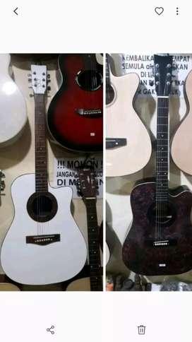 Gitar jumbo GARANSI bonus tas