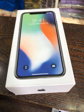 Iphone x 256 gb new only 5 day use