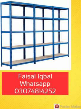 Light weight sloted angle rack, wearhouse, home storage
