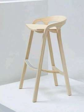 Kursi bar chair jati 332