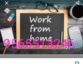 Online job offer for unemployed people at home