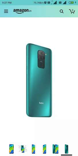 New Box Pack REDMI NOTE 9(4/64GB) GREEN COLOR