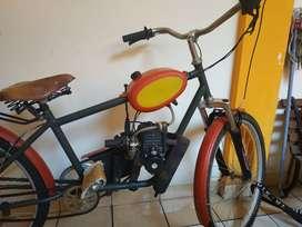 Sepeda bermesin bermotor