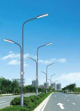 Tiang lampu PJU dan Lampu taman antiq
