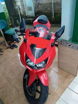 Motor second Kawasaki ninja