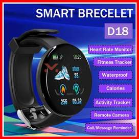 100% Original Buy D18 Fitness Bracelet Smart Mobile Band in Pakistan