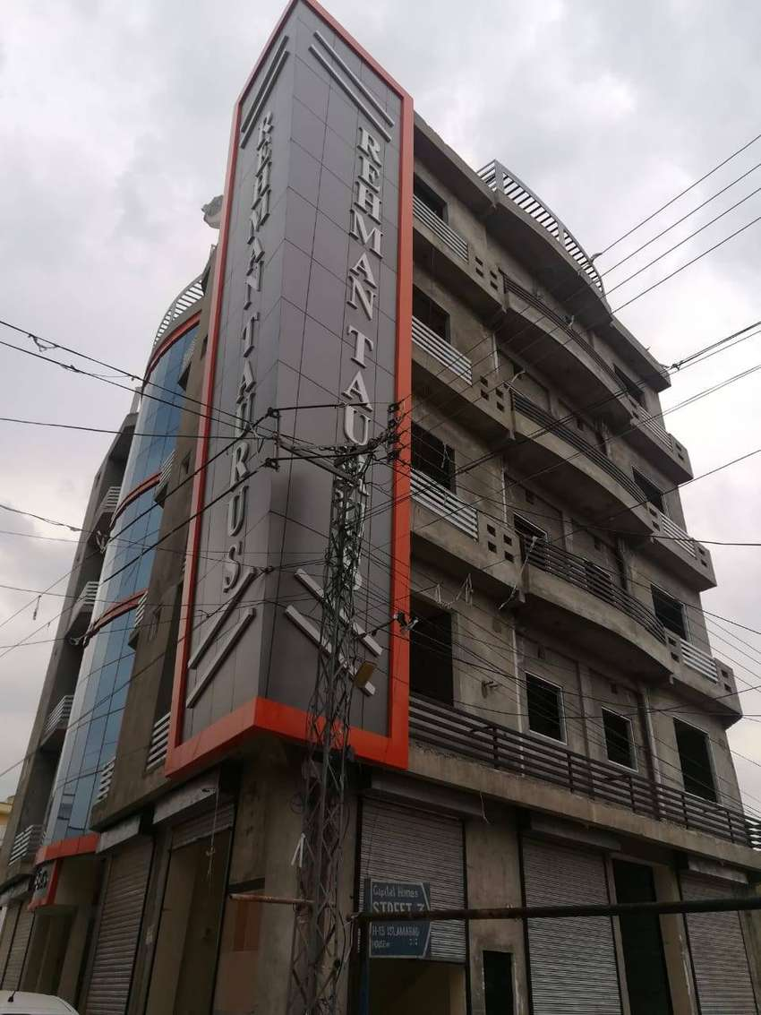 H-13 Islambad 2 bed with T.v lunch new ready appartment just 25 lakh 0