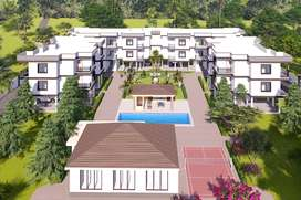 2-BHK Luxury Vacation/Second Home Apartments for Sale in Goa