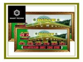 Jual Jam Digital Masjid Tanjung Jabung Barat Kab.
