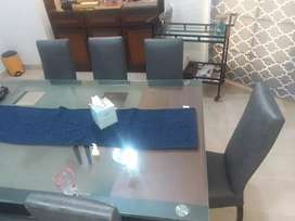 Dinning set and A 3 door table