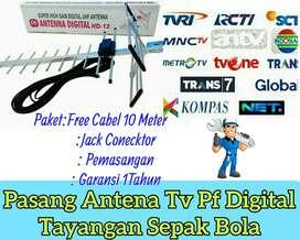 Agen Pasang Baru Antena Tv Pf Kualitas Hd.