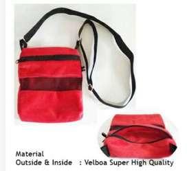 Bonding Pouch Tas Sugar Glider warna Merah