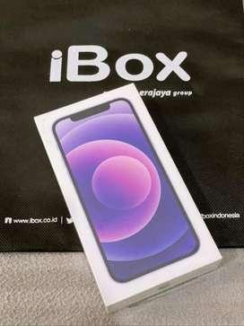Iphone 12 128GB Purple New Garansi IBOX Boleh Cash COD dan Rekber