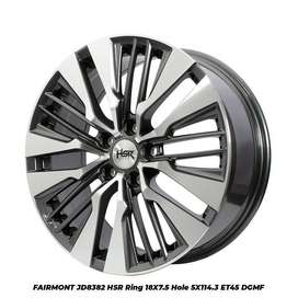 Velg Mobil Innova Ring 18 HSR FAIRMONT Pcd 5x114,3 Grey Polish