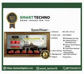 Jam digital memiliki berbagai fitur tipe ideal