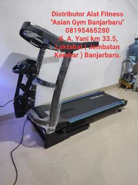 Treadmill Elektrik Auto Incline 2hp 3 Fungsi
