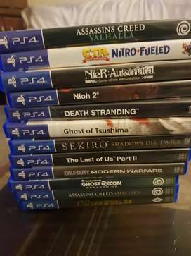Ps4 latest games