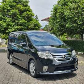 KM 50RB!! NISSAN SERENA 2.0 HIGHWAY STAR AT 2013
