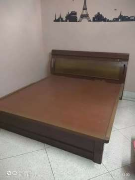 King Size Bed wooden