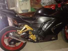 Ninja 250 r karbu tahun 2009