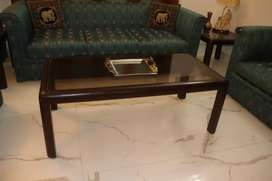 Center table solid sheesham + 2 side tables