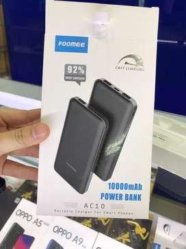 Powerbank foomee 10.000 MAH ORIGINAL GRANSI 1th
